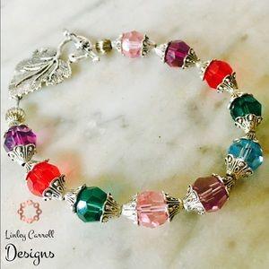 Jewelry - Swarovski Crystal Multi-Colored Bracelet